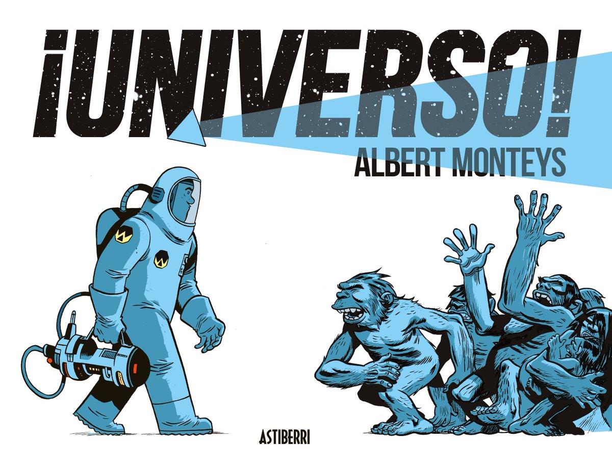 .@AlbertMonteys en ruta. Ayer #Santander, hoy #Vitoria. #PremioZonaCómic de las #librerías independientes españolas por ¡Universo! A partir de las 12 en Omega Center Vitoria