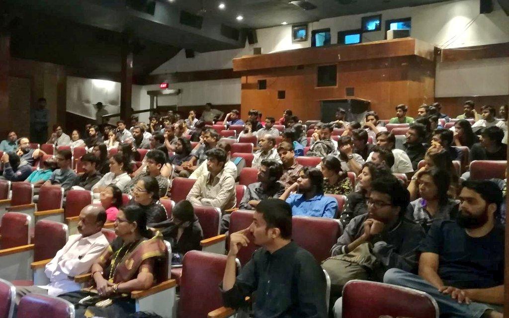 Padaarpan continues with  special screening of the movie 'Hawaizaada'. #FTII #Pune #Padaarpan