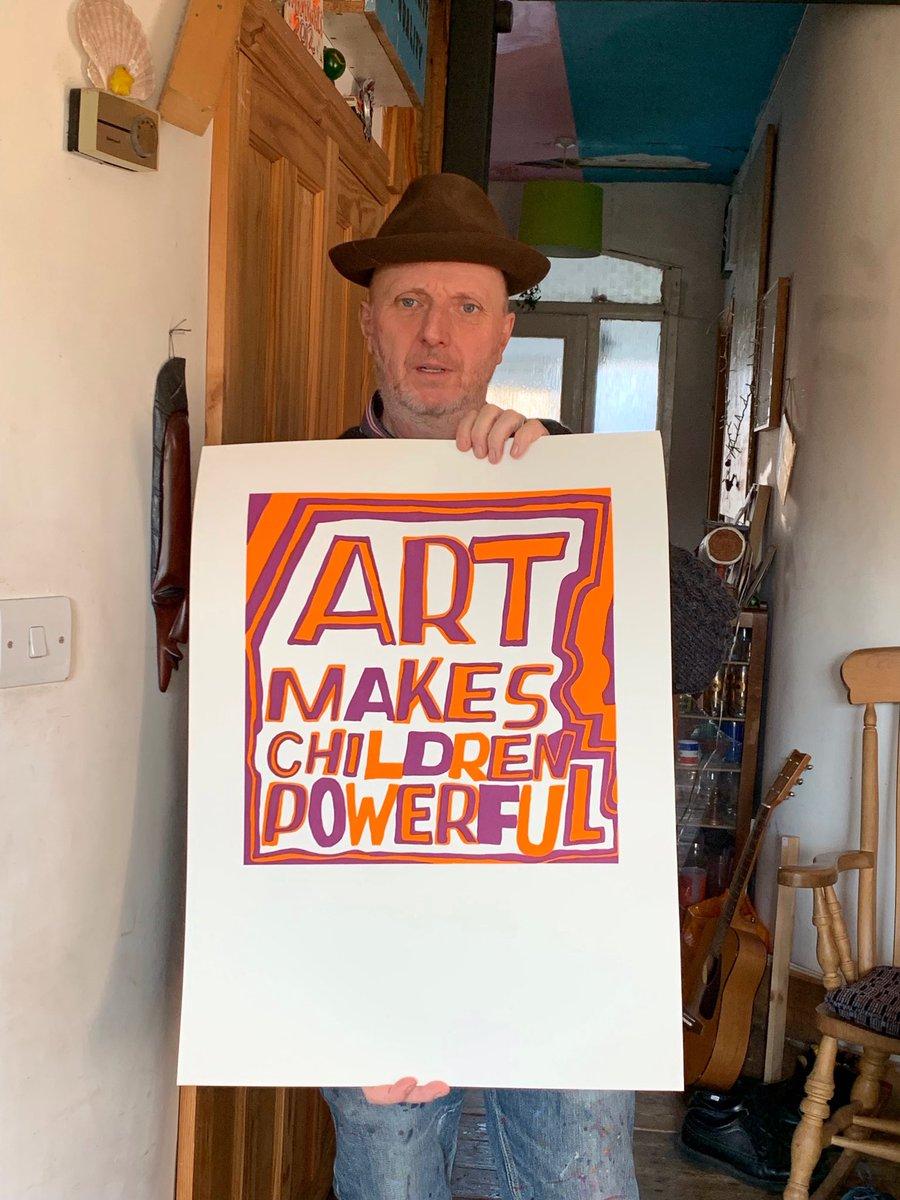 Art makes children powerful...