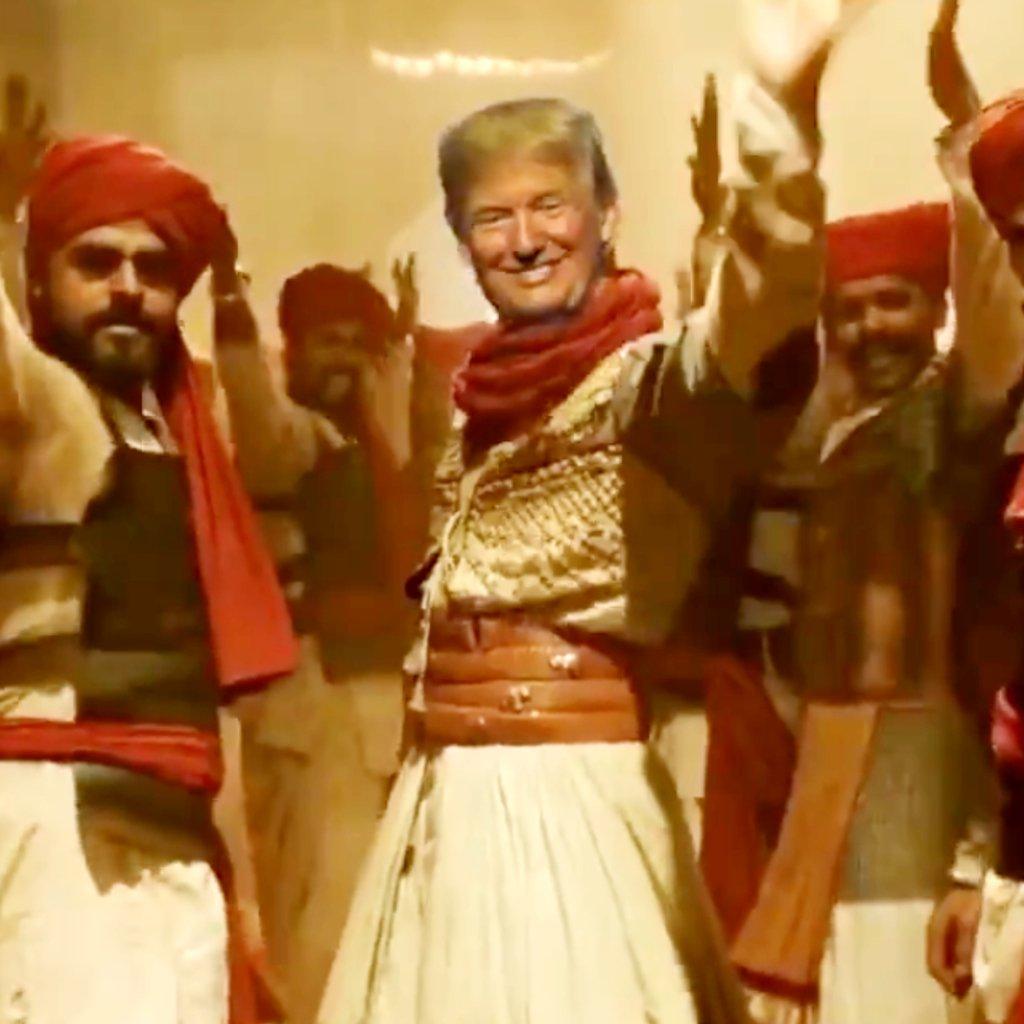 Ranveer Singh's superhit track Malhari gets a Donald Trump twist; Watch Video