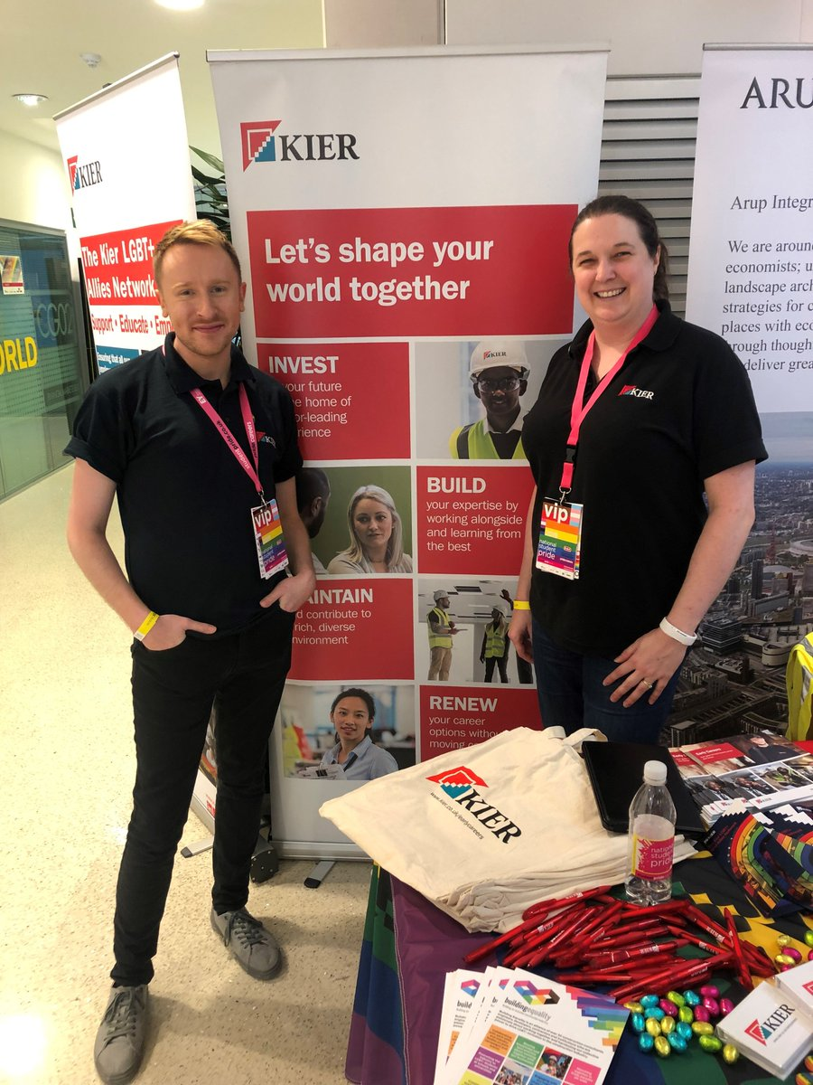 Our #Kier stall is ready to welcome students to @studentpride careers fair to chat about why we love what we do and the great career opportunities available in the construction industry! #Equality #Inclusion #Diversity #loveconstruction #StudentPride #Graduate