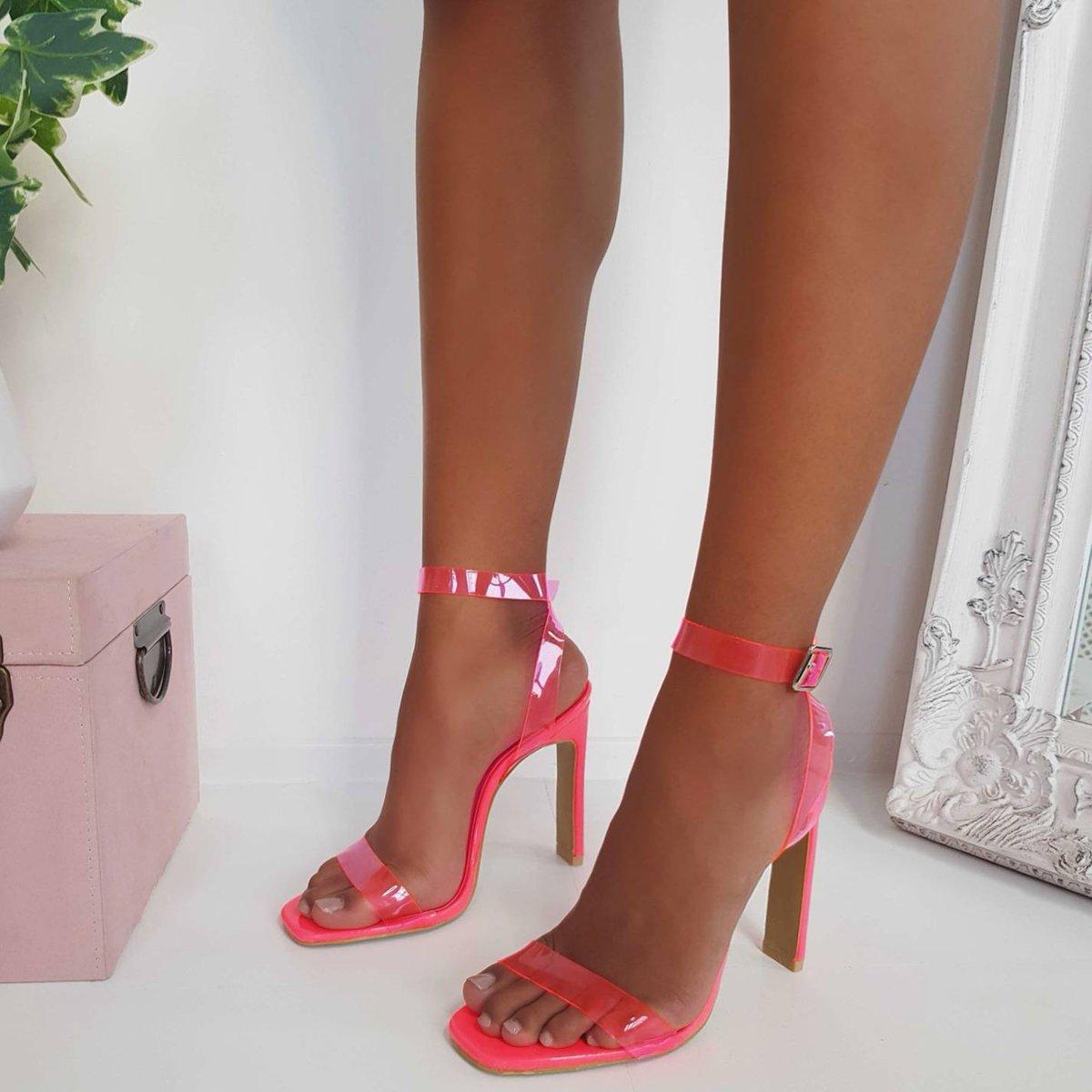 Image for Neon Dreams 💘  The RAZZI Perspex heels got us Krushn rn 😍  Shop ALL New Drops 👉🏽 https://t.co/5y08kiUfWH #ikrushbabe https://t.co/vjxpXqW9b1