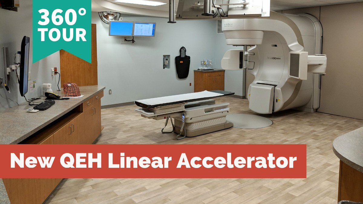 New linear accelerator improves cancer treatment, reduces the need for Islanders to leave PEI. Dr. Larry Pan, radiation oncologist, explains how the machine is used for cancer treatment in PEI's radiation clinic - incl 360 video tour! @Health_PEI  https://www.princeedwardisland.ca/en/news/better-cancer-treatment-better-technology-new-linear-accelerator…