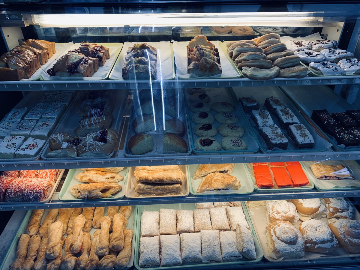 I came in for coffee and saw this. Antigua Bakery in Utuado.  Father in Heaven ... please help me resist against temptation. <br>http://pic.twitter.com/vkkrmPmXTX