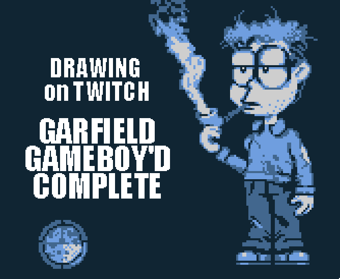 Lumpy On Twitter We Re Drawing Garfield Gameboy D Complete Today Lots Of New Loading Screen Lore Https T Co Wzvxysz7fo