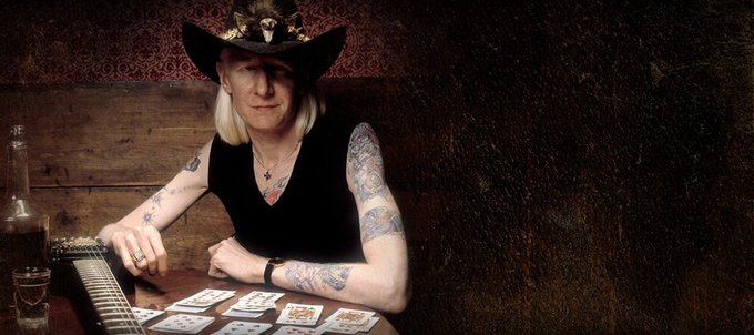 In remembrance of and a Happy Birthday to Johnny Winter, February 23, 1944 July 16, 2014 ~ RIP  =)