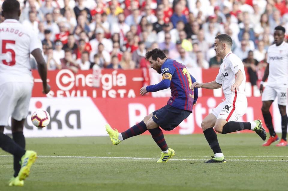 اهداف فوز برشلونة علي اشبيلية كاملة