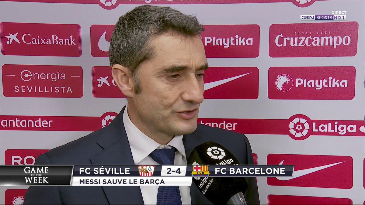 """⚽️ #GameOfTheWeek 🗨️ Valverde : """"Toutes les équipes on de grands joueurs, mais on a le meilleur"""""""