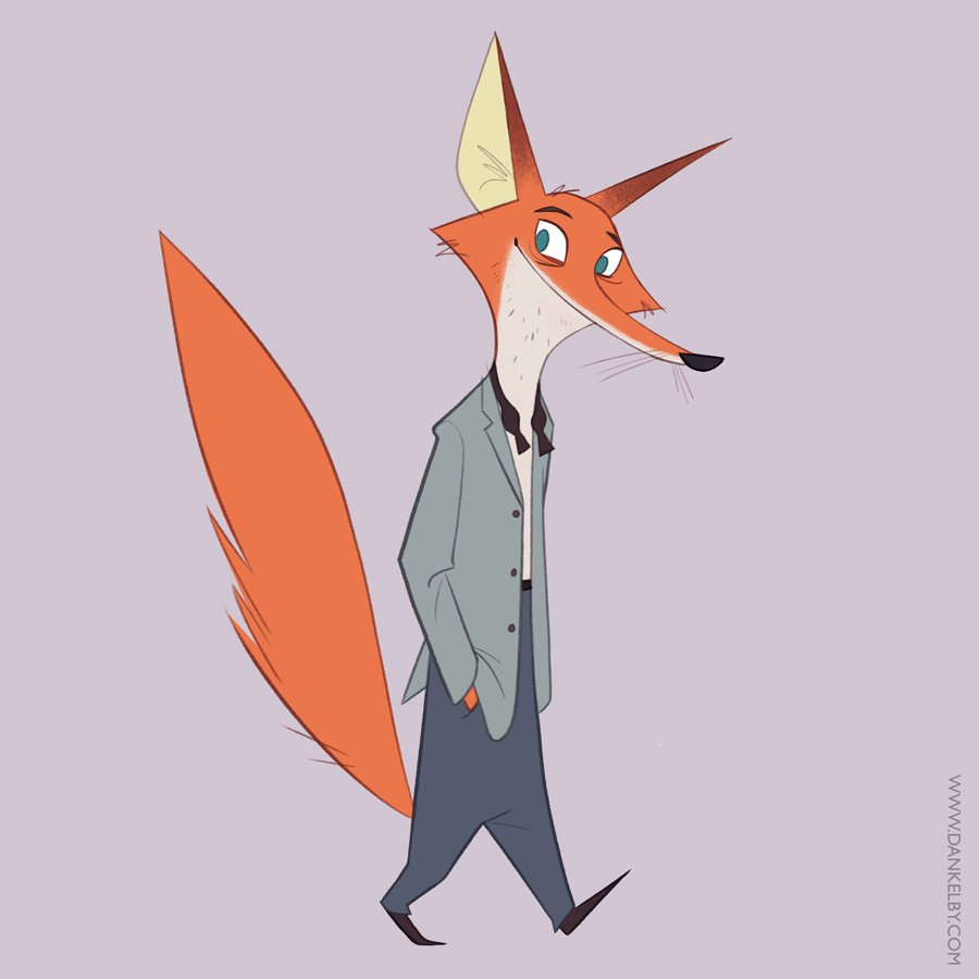 A foxy guy from today! #characterdesign<br>http://pic.twitter.com/poG6SlNprh