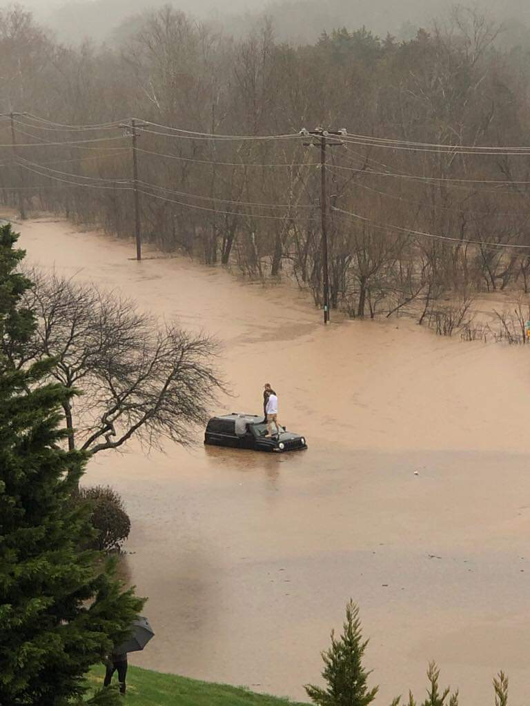 Flooding in East Tennessee.