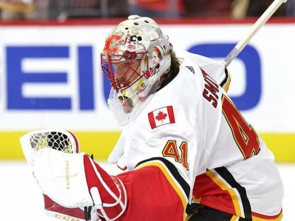 Calgary Flames' Mike Smith Seizing Latest Opportunity https://t.co/mLO7RSLUV4 #THW #Flames #NHL