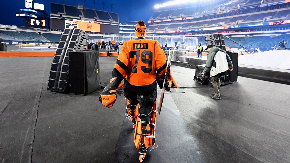 #Flyers goaltender Carter Hart has a lower-body injury and is expected to be out a minimum of 10 days. <br>http://pic.twitter.com/b69WLB2CDv