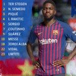 🔵🔴 XI Barça⚽ #SevillaBarça