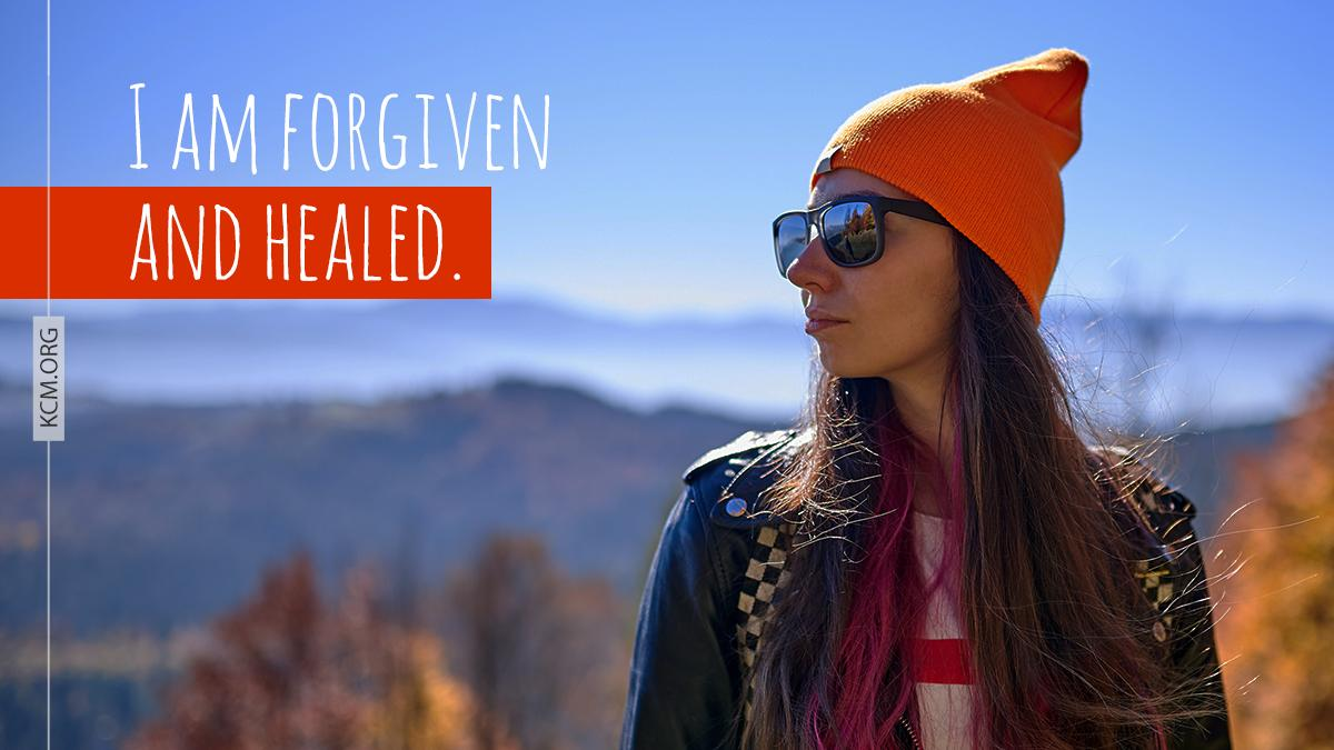 Make this your confession today. You are forgiven and healed. #BVOV #behealed