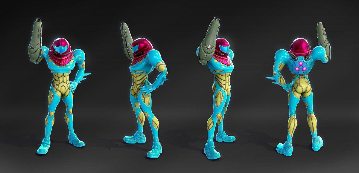 Samus Aran - Metroid Fusion - 3D Game Model by Marcelo M. Prado  https://www. artstation.com/artwork/d99ZQ  &nbsp;   #Metroid #Metroid33<br>http://pic.twitter.com/g8zNu8iX7a