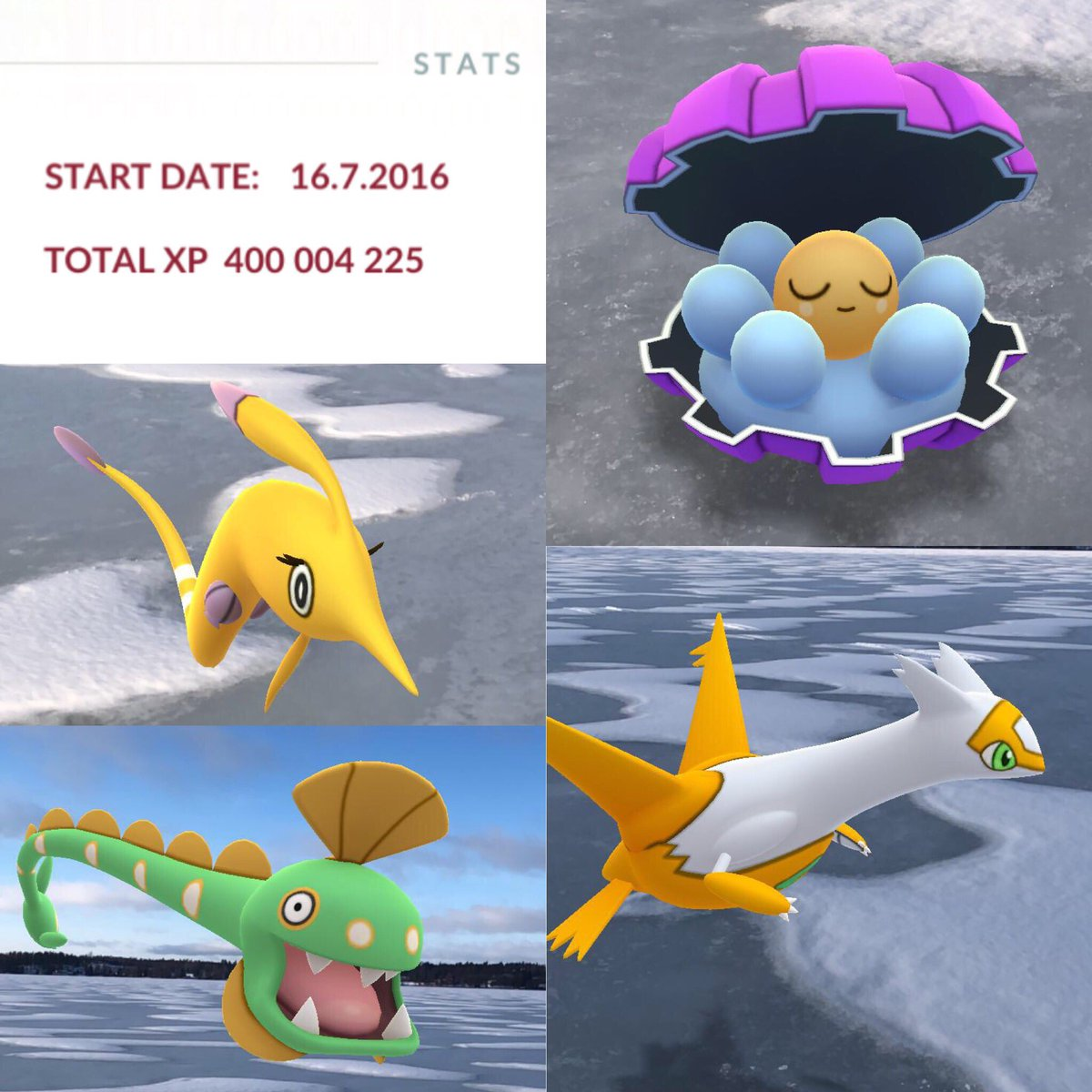 TL40x20 and four new shinies #pokemonGO #casualSaturday<br>http://pic.twitter.com/WSWz0ZcV8y
