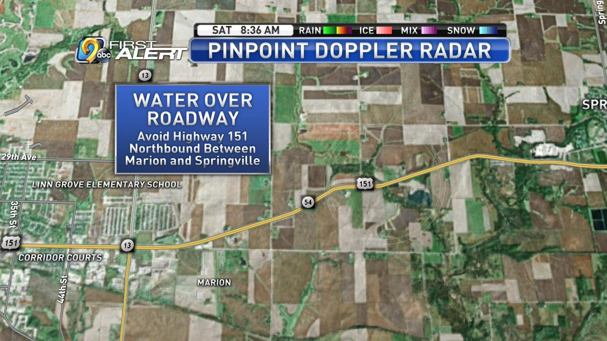 Kcrg Tv9 First Alert Weather On Twitter Another Iowa Dot Report Of