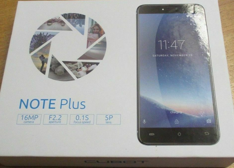 """Cubot Note Plus Smartphone 3+32GB HD 4G 5.2"""" Android 4*Core 13MP Mobile Phone..."""