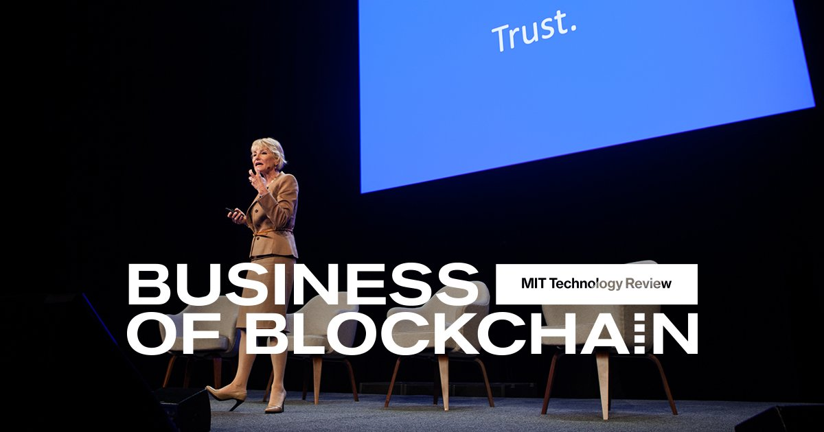 Blockchain technology holds immense potential. Learn about the technology at our one-day event to gain a business advantage. Time is running out–purchase your ticket today! https://t.co/LYnhgMMfZf
