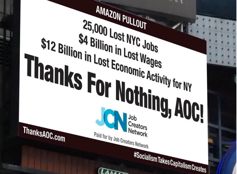 are they just going to keep adding billboards every time @aoc does something? do they know how to tweet back?