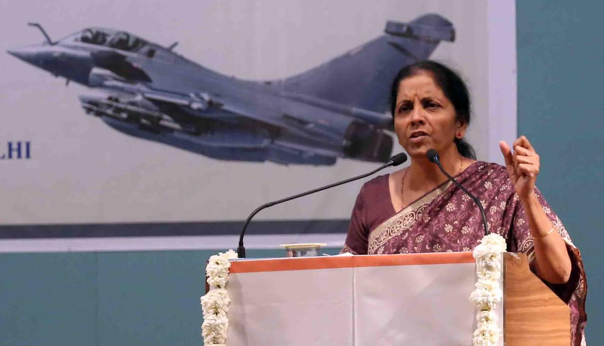 Only nation's good drives the decisions of PM Modi; urgently required Defense purchases stalled in ten years of UPA govt resumed in present govt without middle men: Raksha Mantri in Gujarat