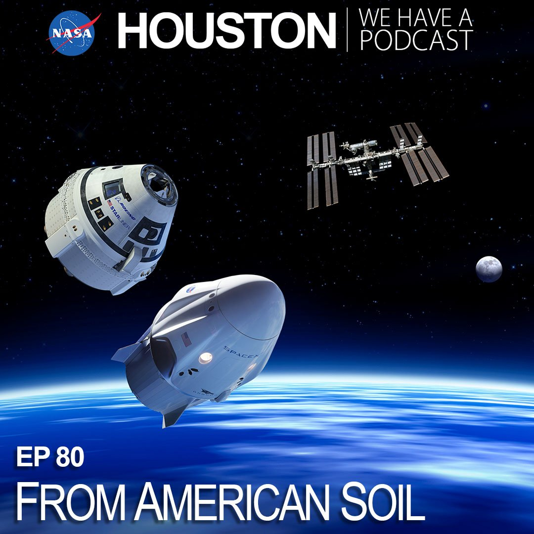 On 'Houston We Have a Podcast', Steve Stitch, Deputy Manager for @Commercial_Crew, discusses how we are once again launching astronauts from American soil. Stitch talks about upcoming test flights and the role of private industry in human spaceflight:  https://t.co/NqUVXsnkc9