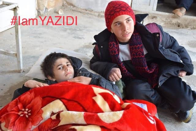 These are #Yazidis who were rescued today. Please help us find their parents. Their names are Samer khider and Zanar Ato <br>http://pic.twitter.com/biU6BKQvZF