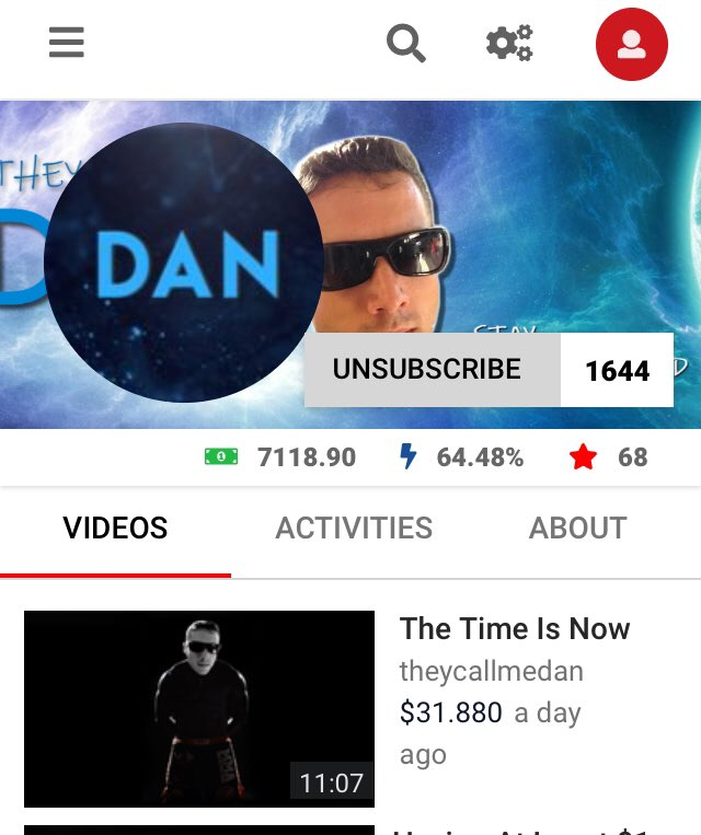 Dtuber of the day! @XformationDan &gt;&gt;&gt;  https:// d.tube/#!/c/theycallm edan &nbsp; …  &lt;&lt;&lt; Go check out their videos and support video creators daily! #steem #steemit $steem #dtube #ContentCreators #blockchaintechnology<br>http://pic.twitter.com/zMObmfn3yA