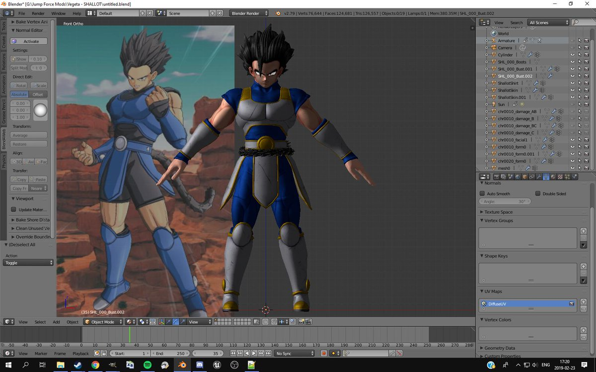Man... imagine if #DBLegends let you choose the colors for Shallot's outfit.  Yes I'm going to include this as a Bonus for #Shallot in #JumpForce. I'd be crazy if I didn't do that!  @KaggyFilms @DevilArtemisX @SLOplays @UltIMa647 @Mastaklo @_Mizumi @YaBoiSaitsu @Lean_Buscaglia_