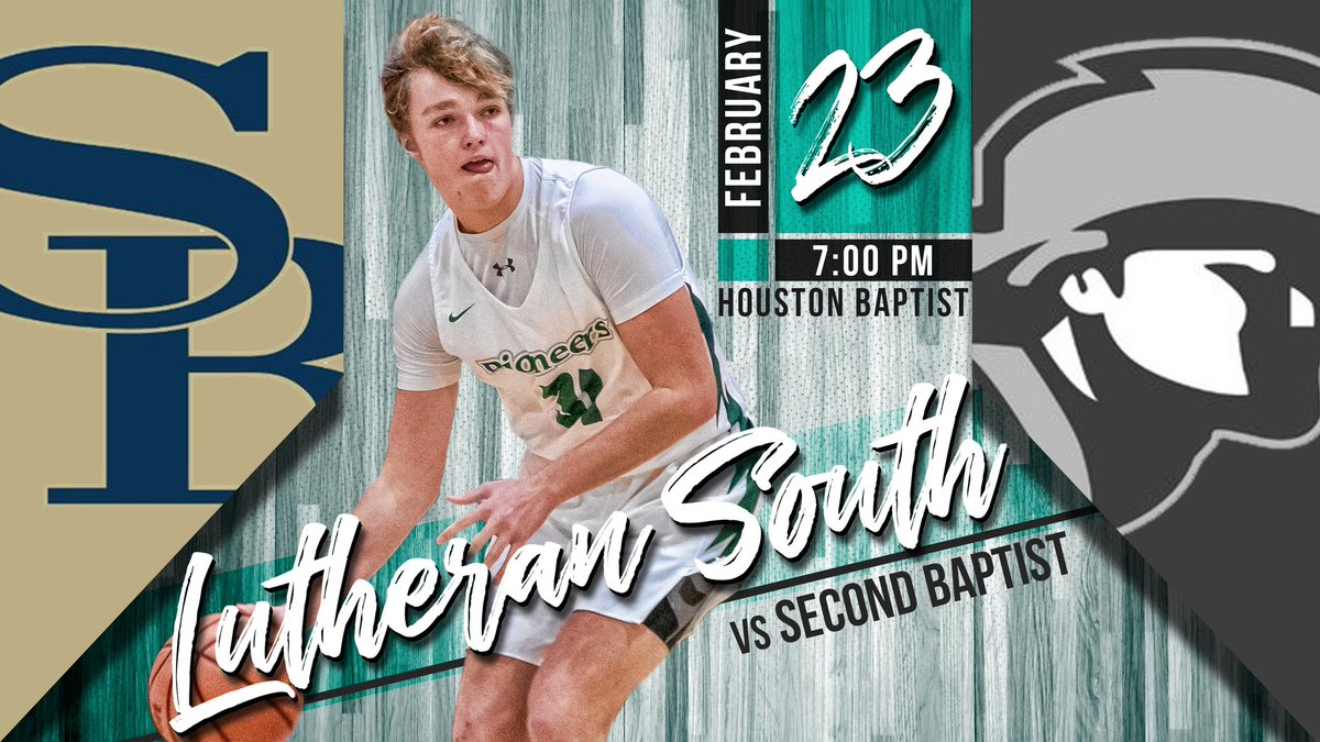 🔥🚨 Playoff alert! LSA plays @SBS_Athletics tonight at @HBUHuskies Sharp Gym! Winner to the State Final Four! Be there! Be loud!#SouthPride