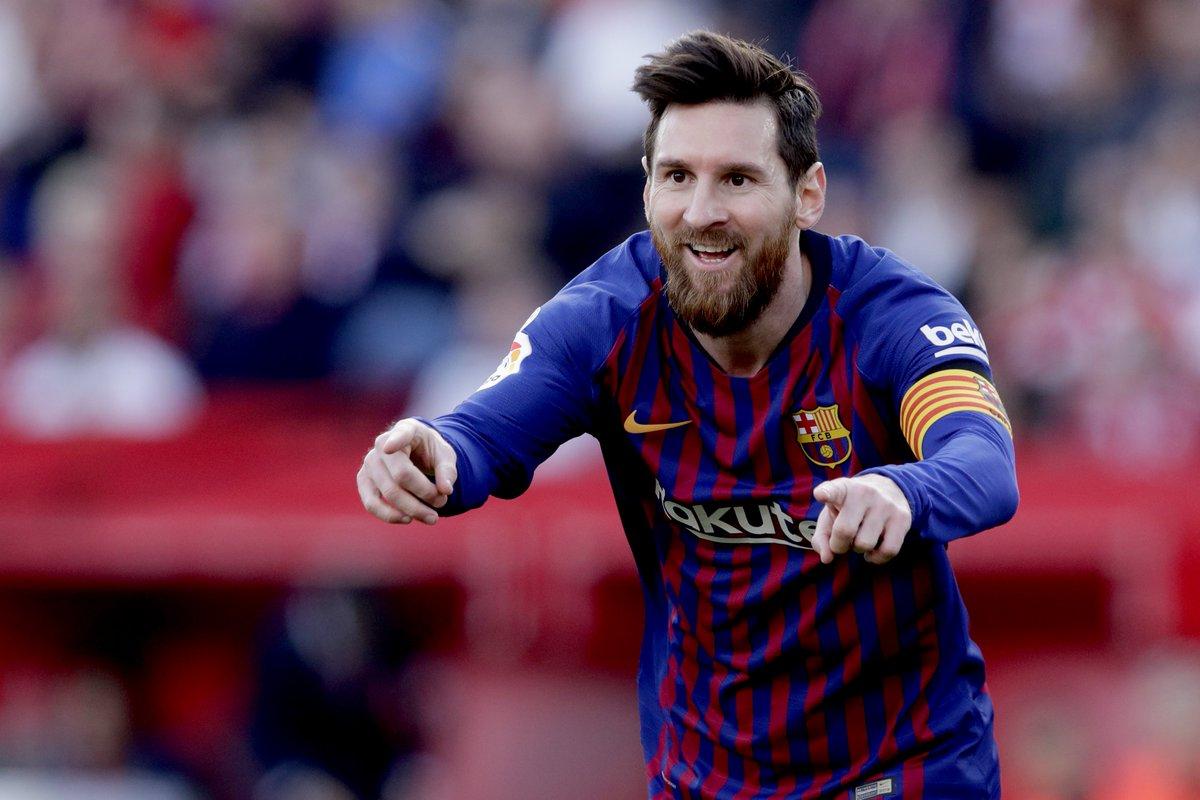 22' Sevilla 1-0 Barca 26' Sevilla 1-1 Barca (Messi) 42' Sevilla 2-1 Barca 67' Sevilla 2-2 Barca (Messi) 85' Sevilla 2-3 Barca (Messi)  🐐