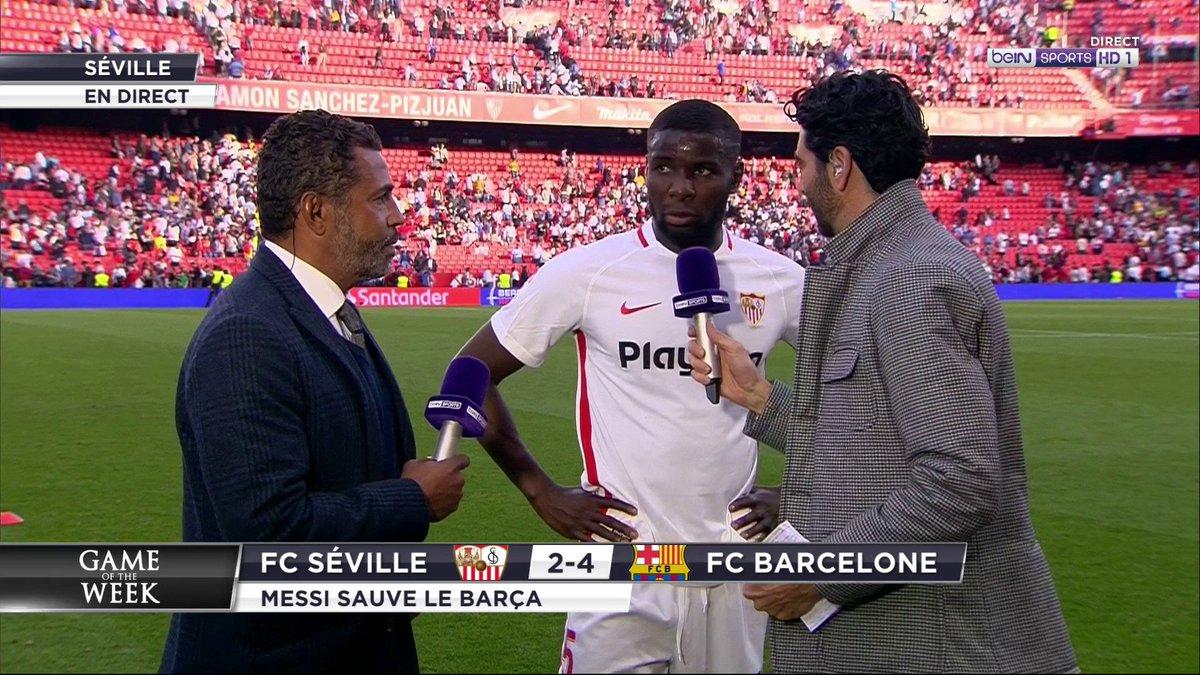 """⚽️ #GameOfTheWeek 🗨️ Ibrahim Amadou : """"On sait très bien que Messi peut faire la différence n'importe quand !"""""""