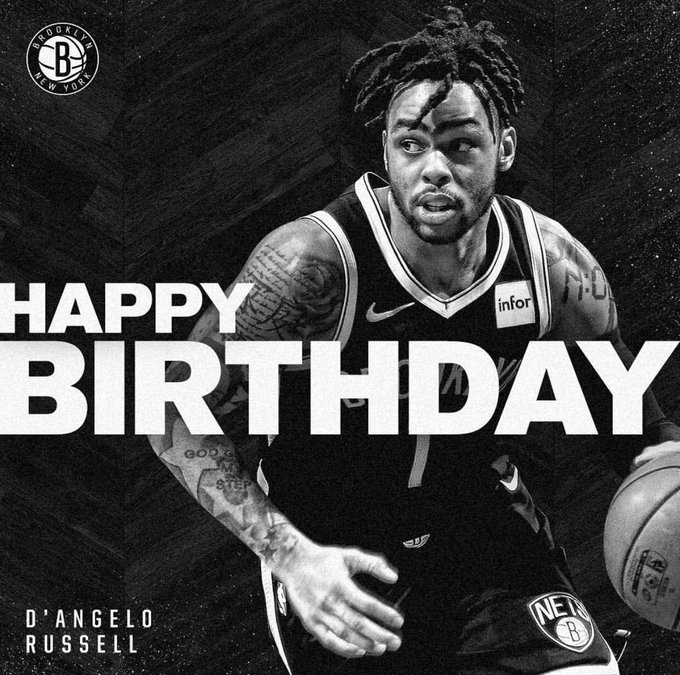 Happy 23rd birthday to MVA alum D Angelo Russell!