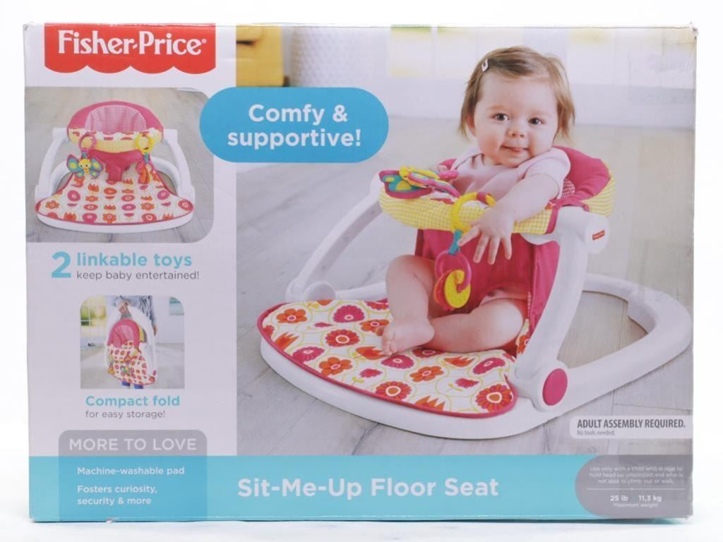 Live Online Auction Sunday February 24th 2019 At 1:00 PM EST. - Fisher Price - Sit me Up Floor Seat https://auction.auctionnetwork.ca/Fisher-Price-Sit-me-Up-Floor-Seat_i32676573… #LiveOnlineAuction #LiquidationAuction #Auction #Liquidation #AmazonLiquidation #RetailGoods #Toy #KitchenAppliances #SmallAppliances #Auctions #Auctions