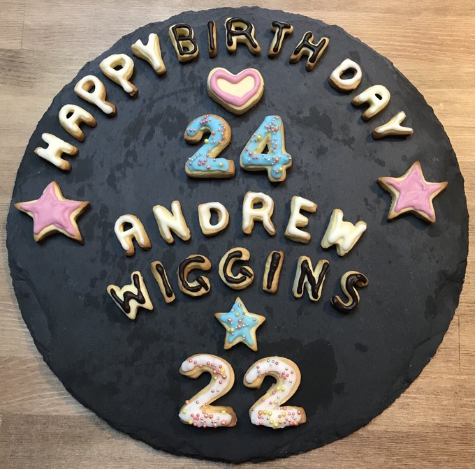 HAPPY  BIRTHDAY   Andrew Wiggins