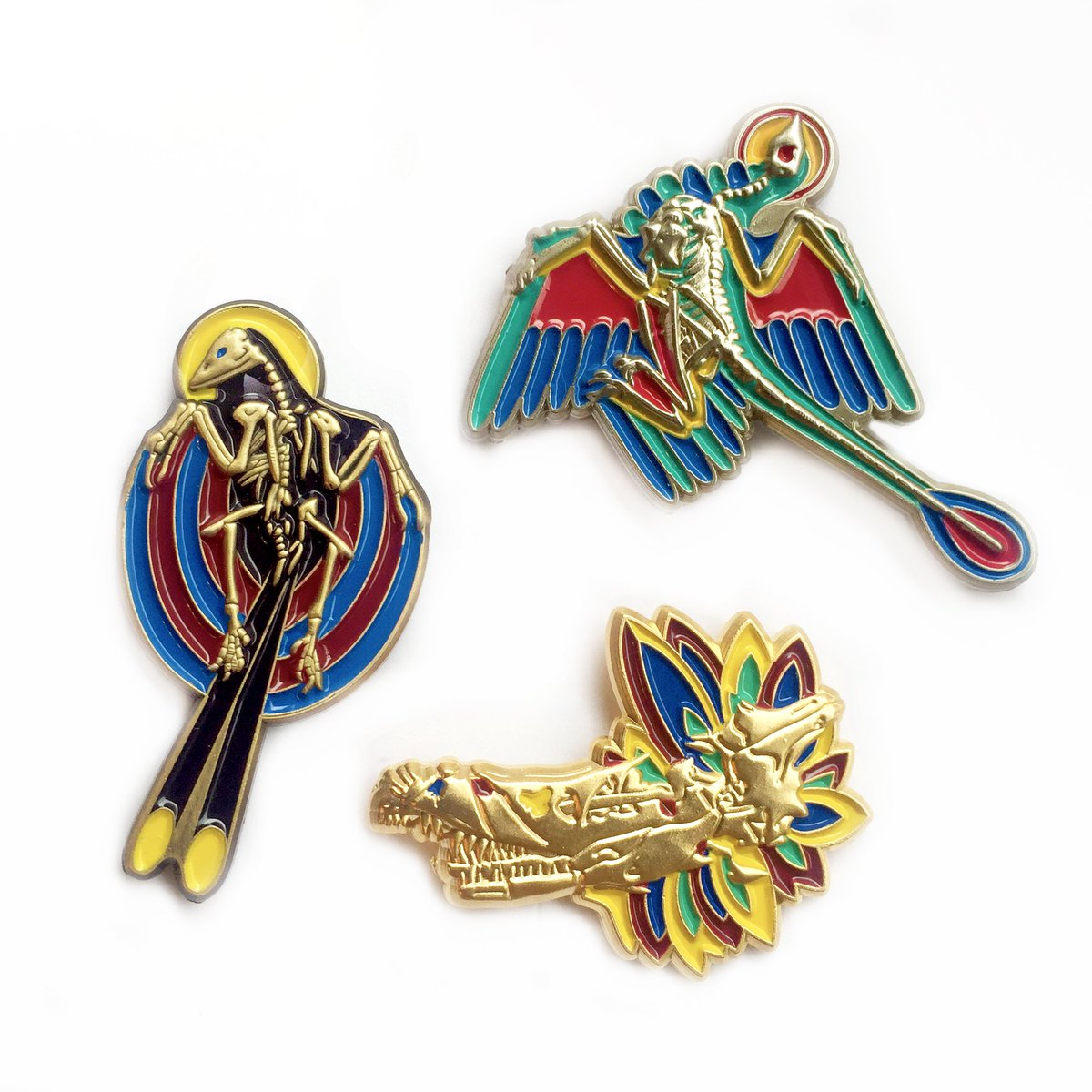 The 3D fossil pins arrived!  https:// greerstothers.storenvy.com/products/25369 818-3d-fossil-pins &nbsp; … <br>http://pic.twitter.com/SYRtd2Q3d6
