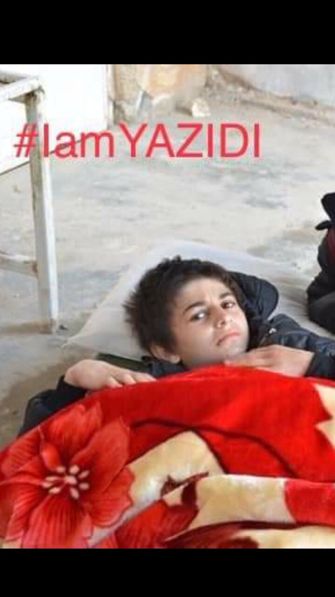 One of the boys who was rescued yesterday has been identified as Zainar Ato who is Sherin Jardo's cousin, a survivor herself who lives in Lincoln. Traces of genocide exist right here in our neighborhood. <br>http://pic.twitter.com/ytTbRTJjcK