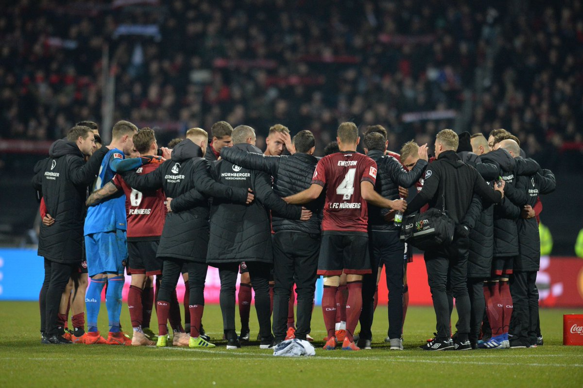 1 – For the first time since April 12th 2014 (1-4 loss at Wolfsburg) Nürnberg have taken the lead in an away game in the #Bundesliga. Rarity.  #F95FCN