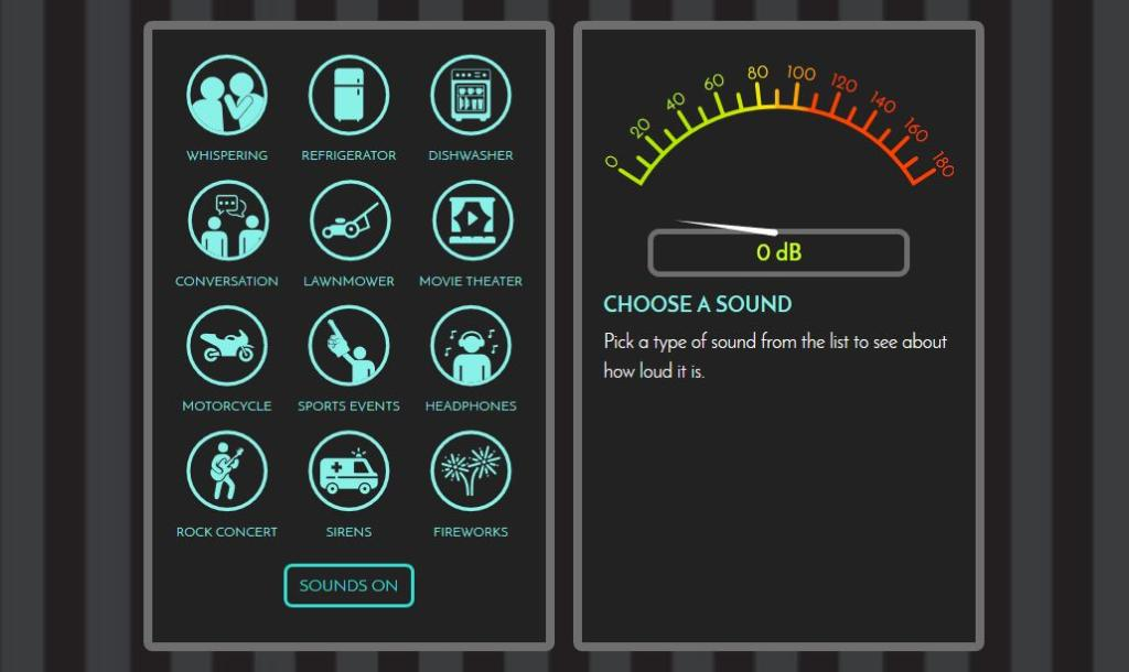 Listen up! 48 million people in the U.S. have trouble hearing with one (or both) of their ears. Use this interactive tool from @CDCgov to check the noise levels for some common sounds, and find out how you can protect your hearing:  https://t.co/PGV3IYgTPb