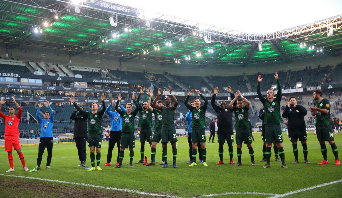 Danke für euren Support! 💚 #VfLWolfsburg
