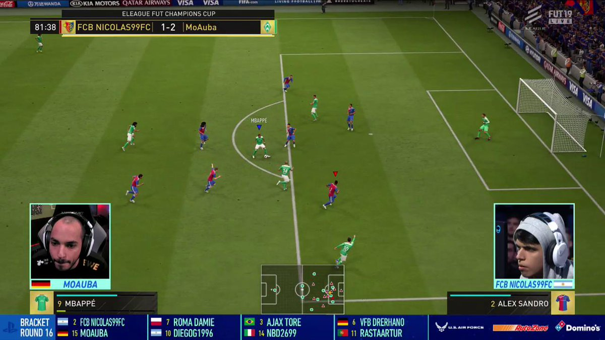 HOW DID THESE NOT GO IN?!? Featuring: @MoAuba & @Nicolas99fc #FIFAeWorldCup #FUTChampionsCup