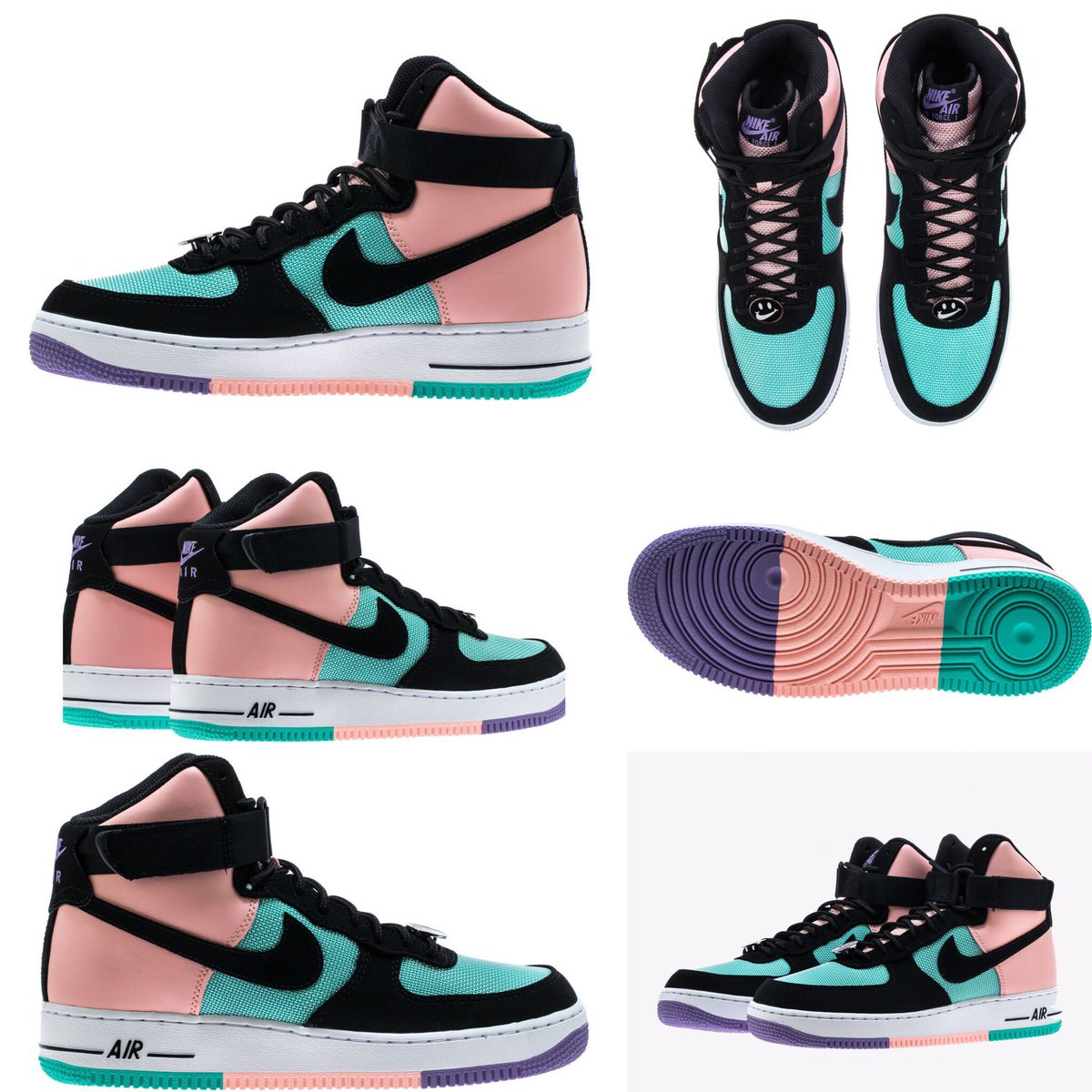 """62b2c9b0037 Nike s """"Have A Nike Day"""" Pack Grows With Another Air Force 1 High ..."""