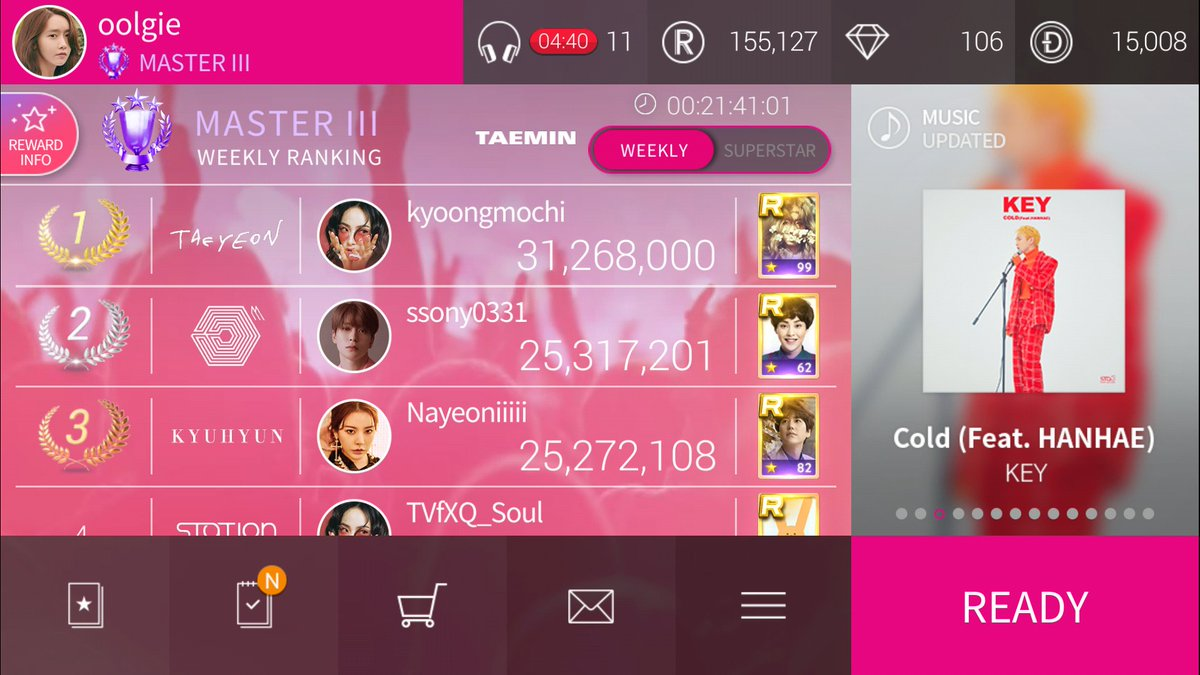 easy week, i can totally get first #superstarsmtown <br>http://pic.twitter.com/2PEcQk3R6x