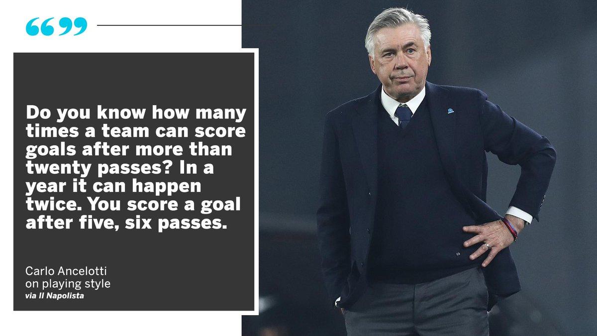 It appears Carlo Ancelotti isn't a fan of Sarriball 😂
