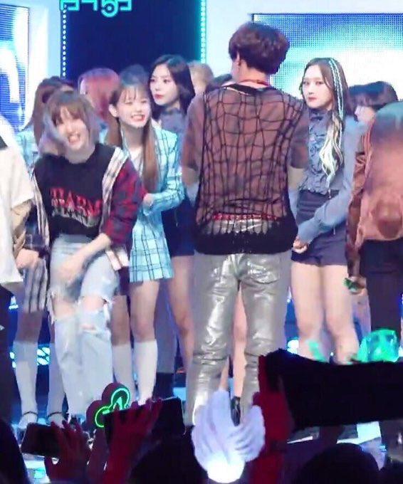 i LOVE this pic. first you see jiwoo smiling brighter than the sun at hoseok and then you see siyeon judging you for squealing the way you just did<br>http://pic.twitter.com/71RL5tO5Oo