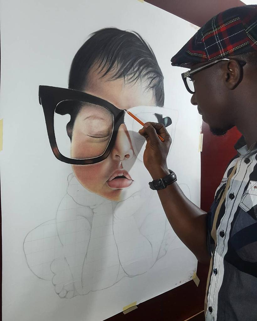 My name is Sheyi Alabi, from Nigeria. I&#39;m a visual artist. These are my drawings.  Retweet please #WeAreNigerianCreatives<br>http://pic.twitter.com/GtQuxzrfV5