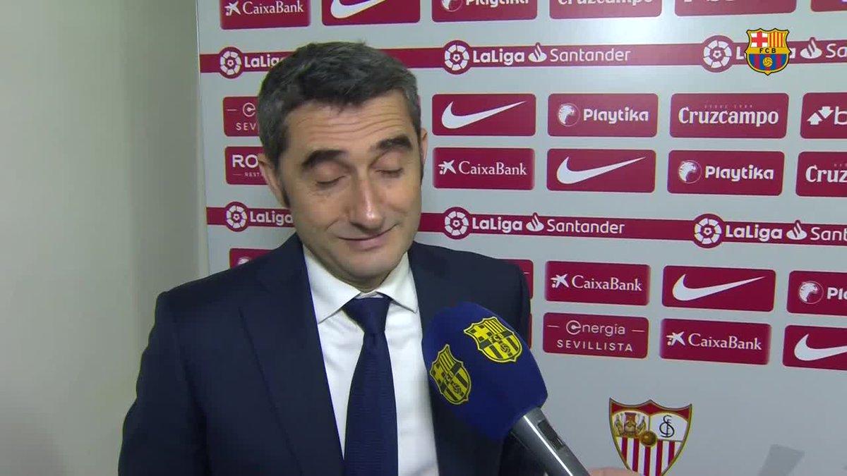 🔊 Las reacciones de los protagonistas tras el #SevillaBarça
