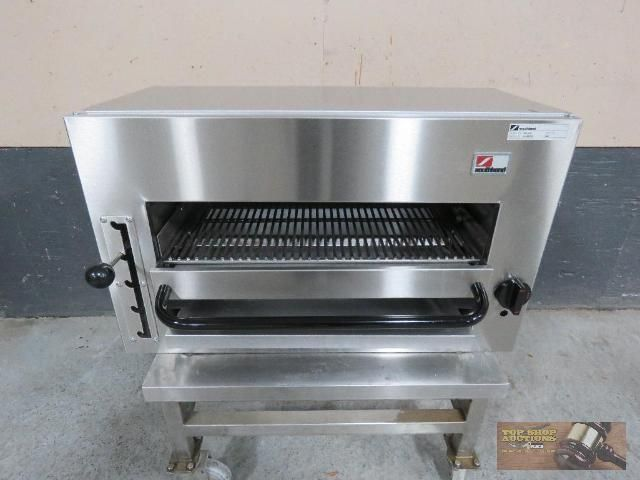 """Southbend 36"""" Stainless Steel Natural Gas Salamander, BRAND NEW! 👉 Sale Ends Wednesday, Feb 27th @ 8:00PM CST #TopShopAuctions #StLouis #Auction #Restaurant Pics & Price 🌐 http://bit.ly/NEWFoodSvcEquip"""