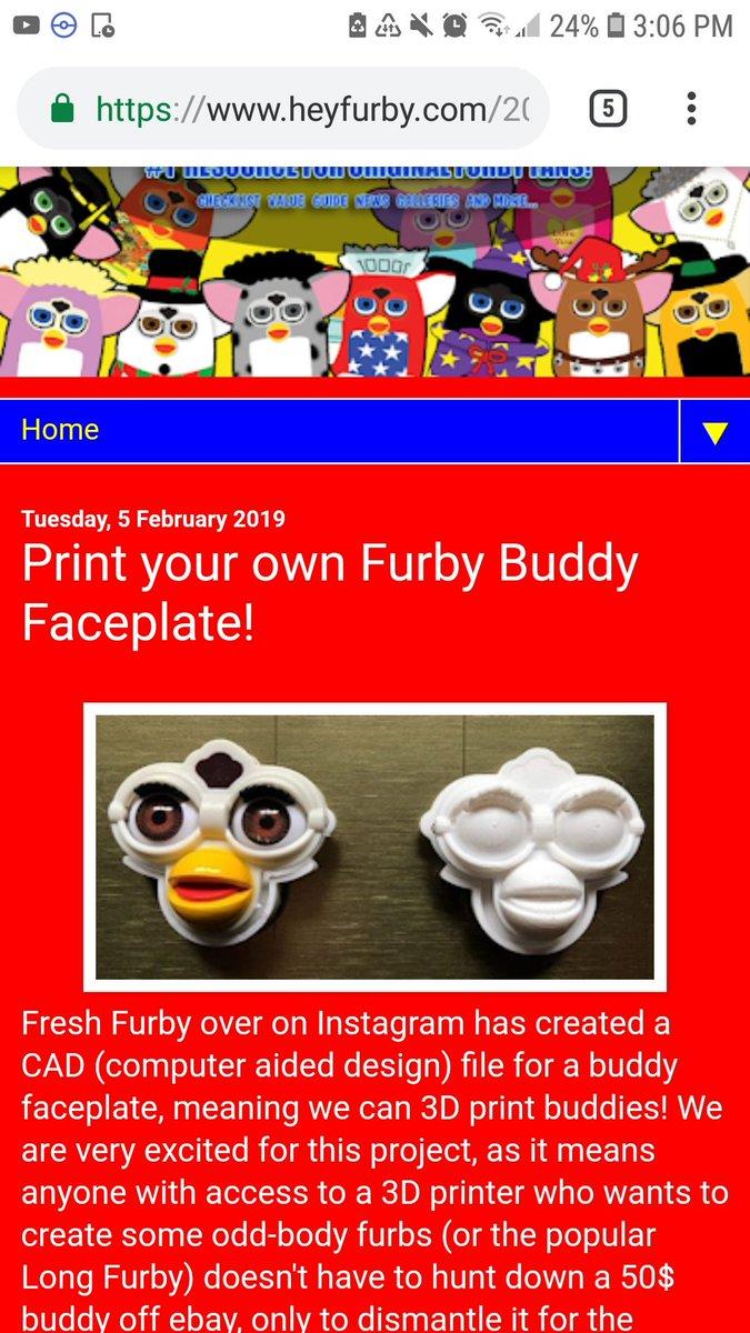 Long Furby Ebay