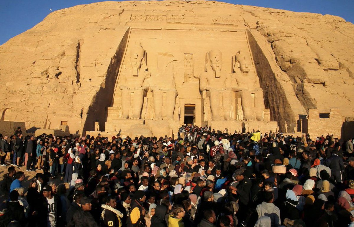 Ministry Of Tourism And Antiquities On Twitter 6 500 People From All Over The World Witnessed The Solar Alignment At Abu Simbel Temple Aswan Tourism Egypt Media News Antiquity Https T Co Cqm1g1ork4
